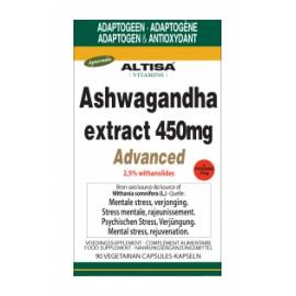 Altisa Ashwagandha extract 450mg 90 Vcaps