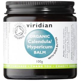 Viridian Organic Calendula & Hypericum balm balsem - 100g