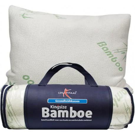Kingsize Bamboe Hoofdkussen