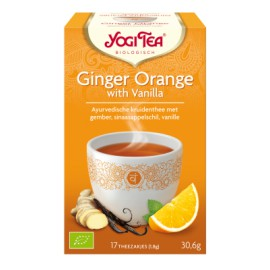 Yogi Ginger Orange with Vanilla - 17stuks