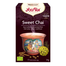 Yogi Sweet Chai - 17stuks