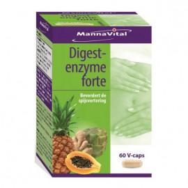 MannaVital Digest Enzyme 60 V-caps