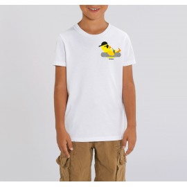 Chill Duck Kids Tshirt - White - Unisex