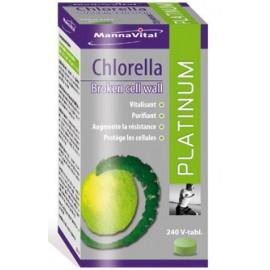MannaVital Chlorella Platinum 240 V-caps