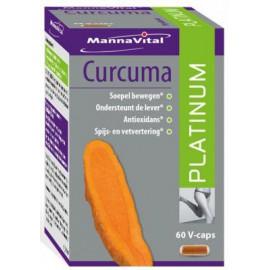 MannaVital Curcuma Platinum 60 V-caps