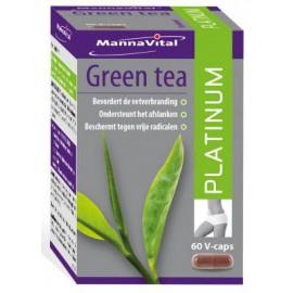 MannaVital Green Tea Platinum 60 V-caps