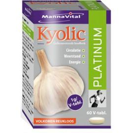 MannaVital Kyolic Platinum 60 V-caps