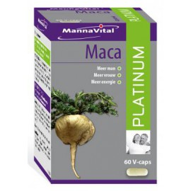 MannaVital Maca Platinum + 60 V-caps