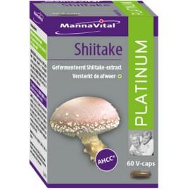 MannaVital Shiitake Platinum 60 V-caps