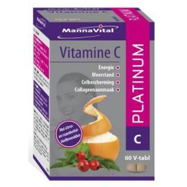 MannaVital Vitamine C Platinum 60 V-tabs