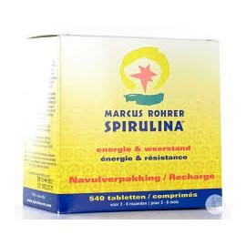 Marcus Rohrer Spirulina Navulverpakking 540 Tabletten