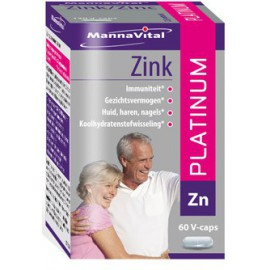 MannaVital Zink Platinum 60 V-caps