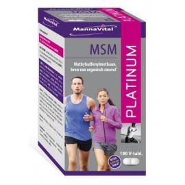 MannaVital MSM Platinum 180 V-tabs