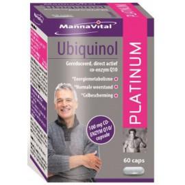 MannaVital Ubiquinol Platinum 60 caps