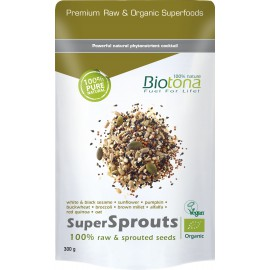 SuperSprouts 100% raw & sprouted seeds 300gr