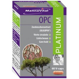 MannaVital OPC Platinum 60 V-caps