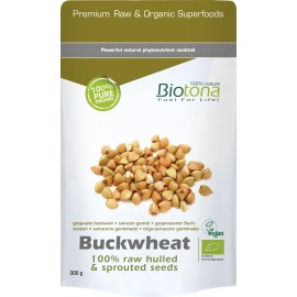 Buckwheat 100% raw hulled & sprouted seeds